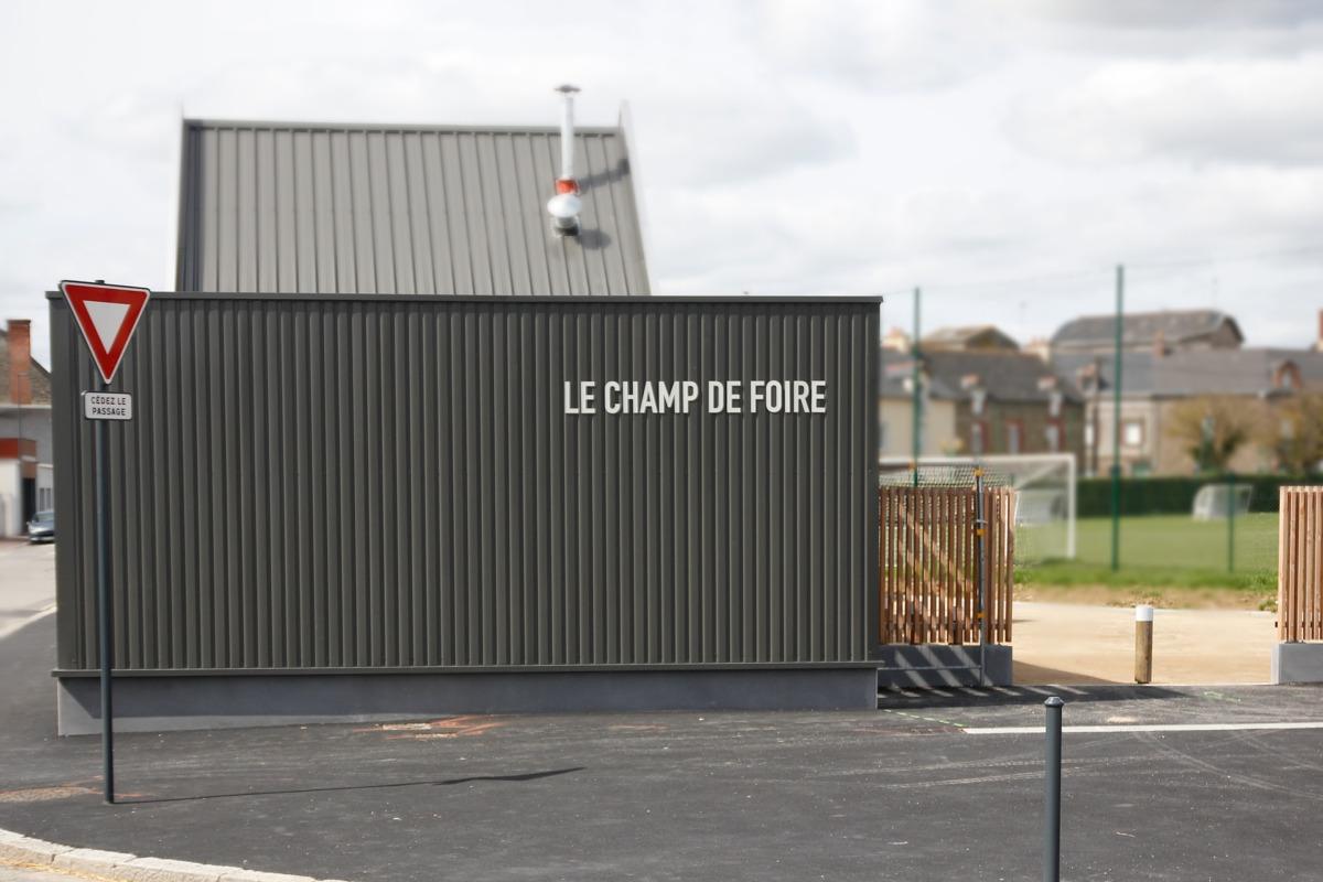 signalétique équipement sportif Bretagne - Janzé