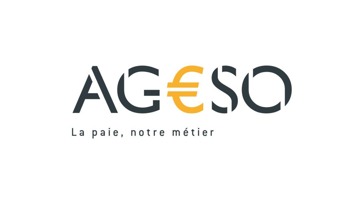 Logo AGESSO - entreprise d'externalisation de la paie