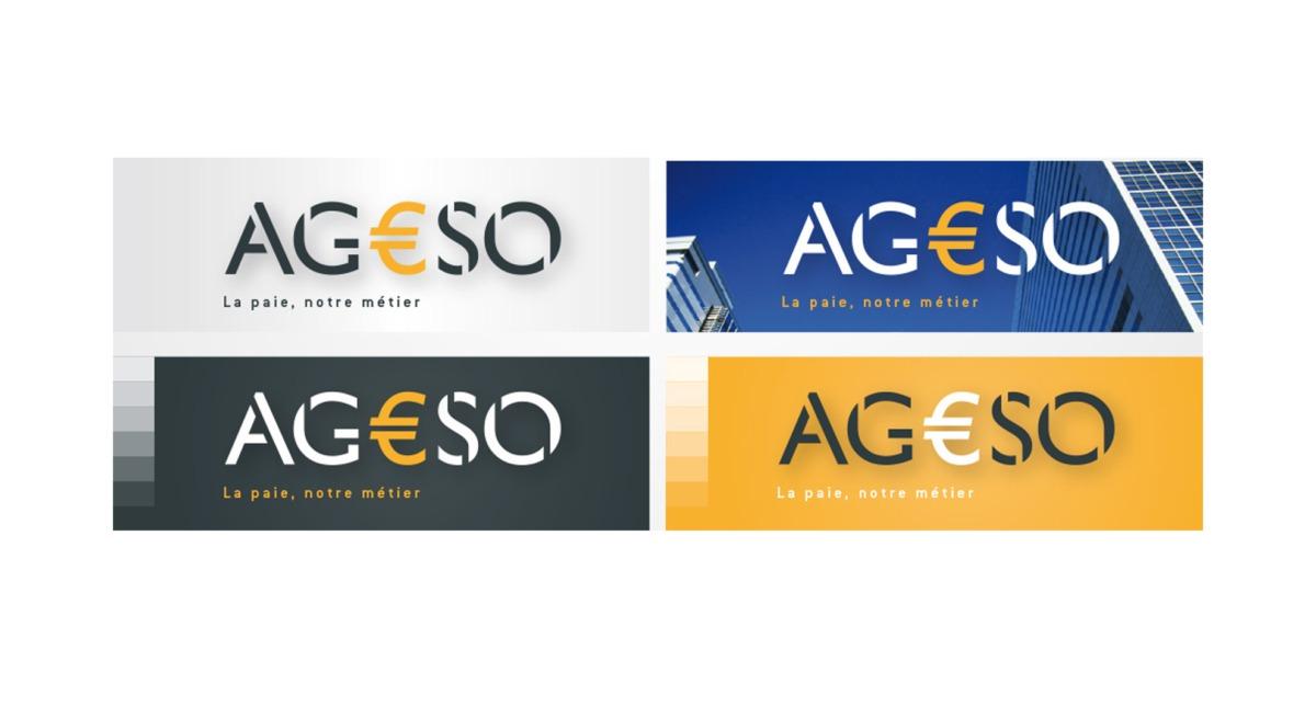 charte d'utilisation couleur pour le logo d'AGESSO