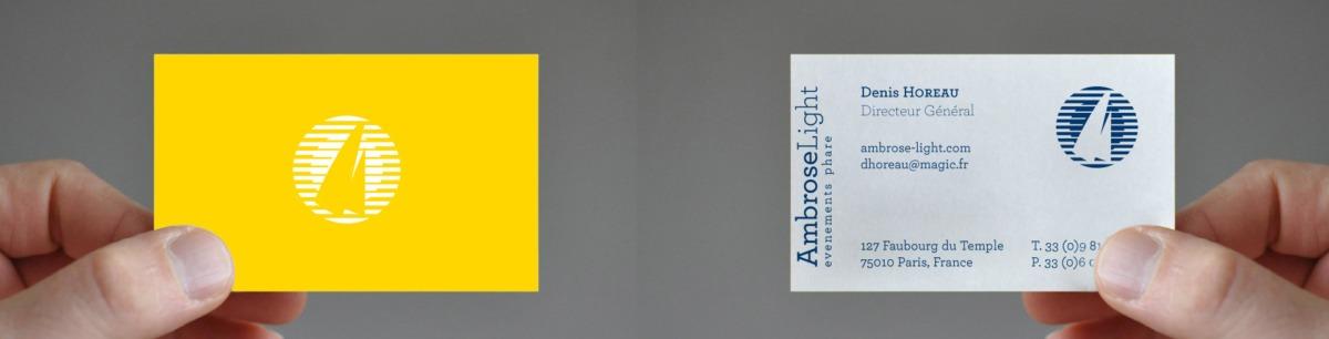 carte de visite Ambrose Light