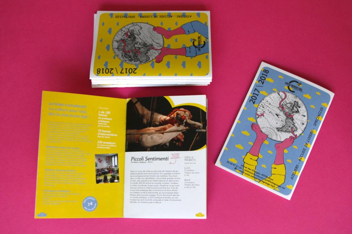 couverture et quatrième de couverture brochure CSC