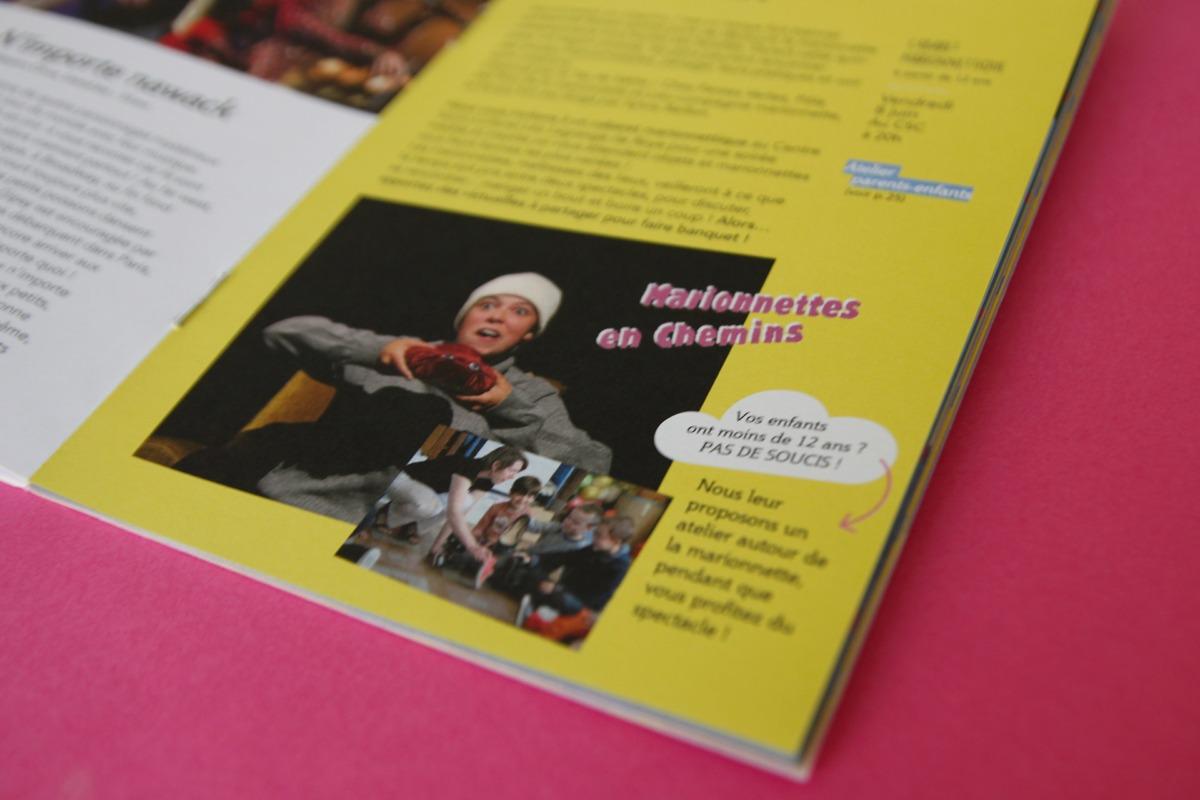 Detail brochure centre léo LAgrange Roye