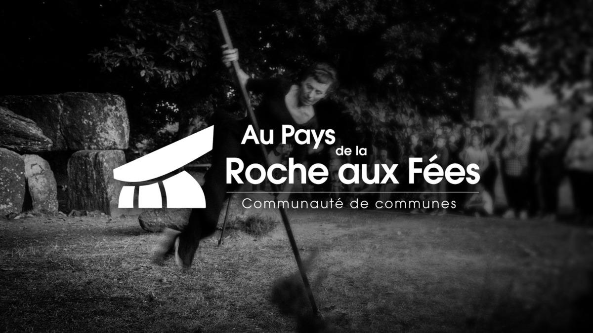 Refonte logo Roche aux Fées communauté