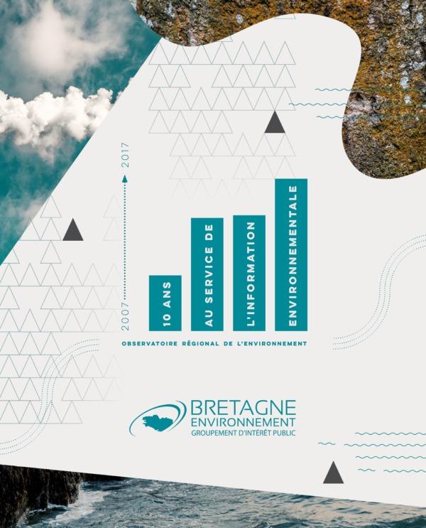 Brochure des 10 ans de Bretagne environnement - Rennes