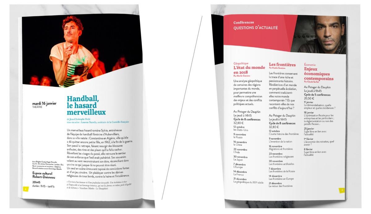 Brochure programme de saison culturelle - MEUDON _ Hauts de Seine