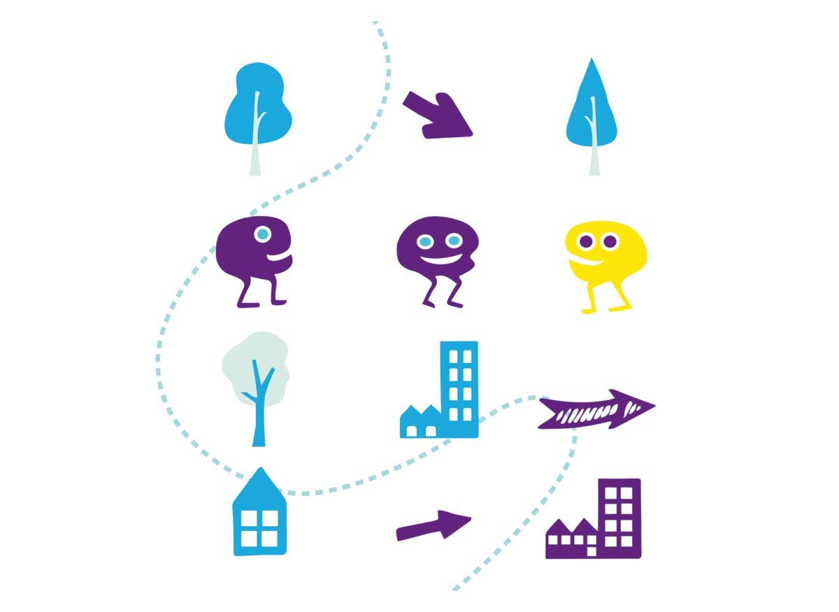 Illustration et dataviz pour TECHNOWEST logement jeunes