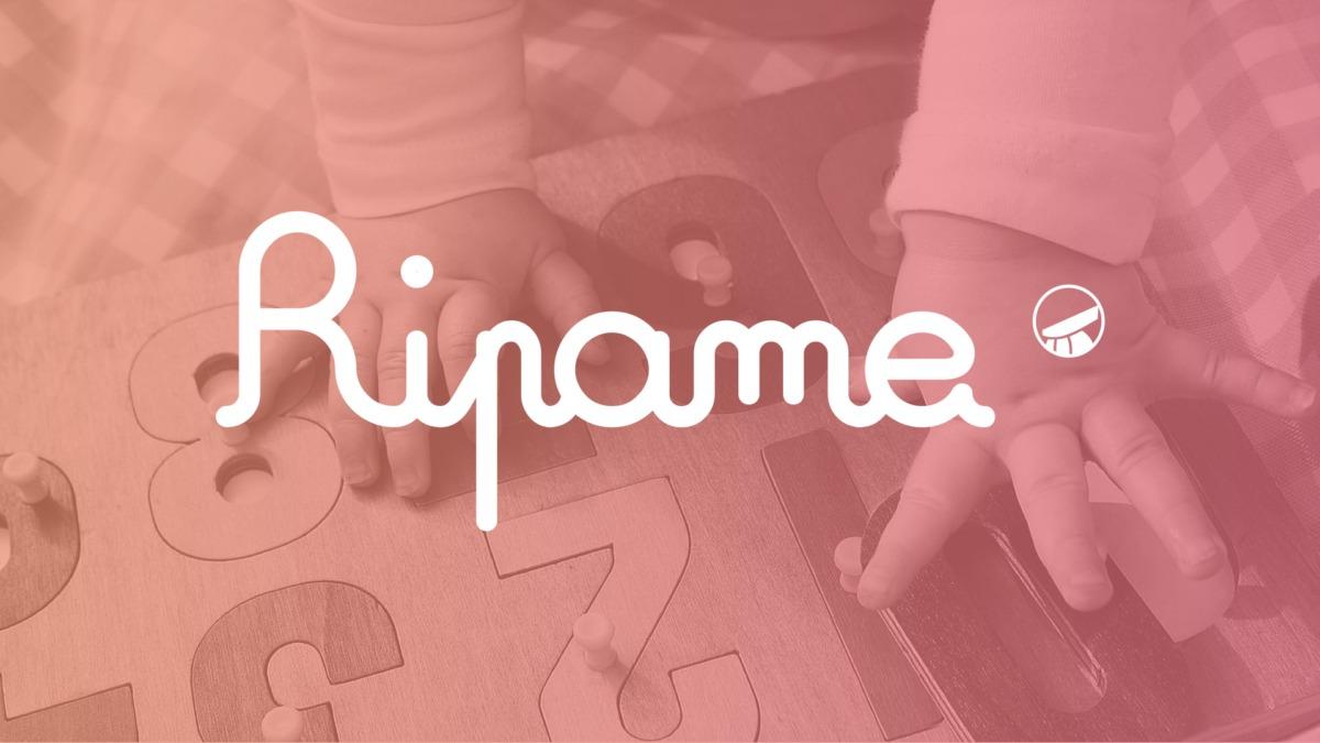 Logo RIPAME sur image d'ambiance