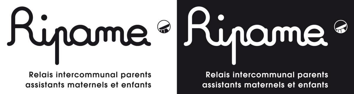 Logo RIPAME CCPRF Noir et blanc
