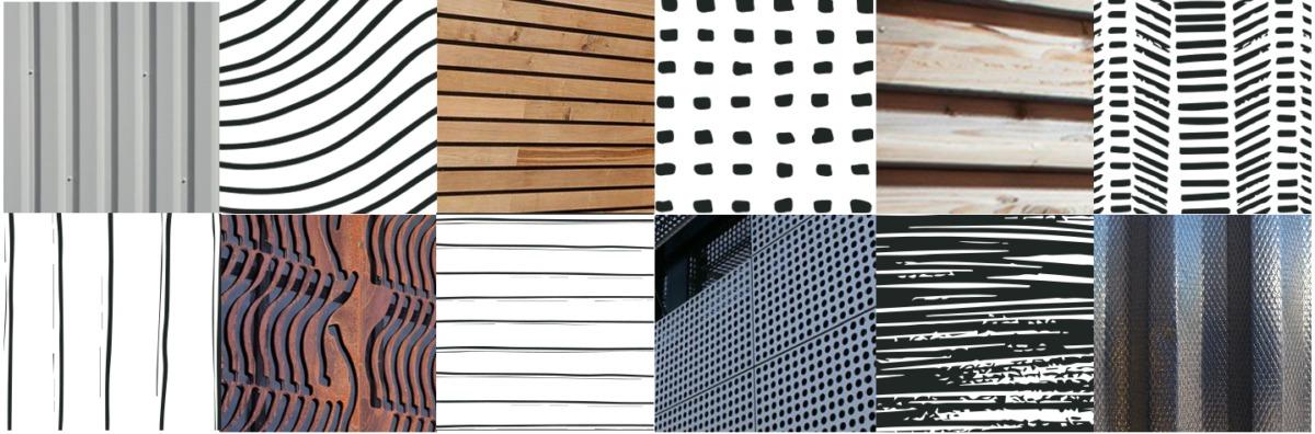 mosaïque motifs pour Stylbox architecture containers - Bretagne