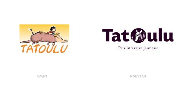 Refonte total du logo de tatoulu, prix littéraire