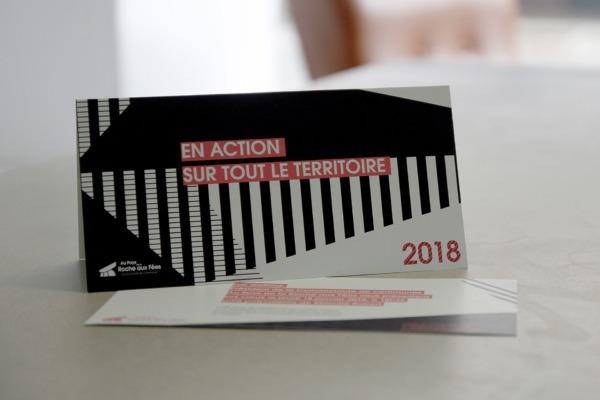 Photo de la carte de vœux Roche aux Fées communauté 2018