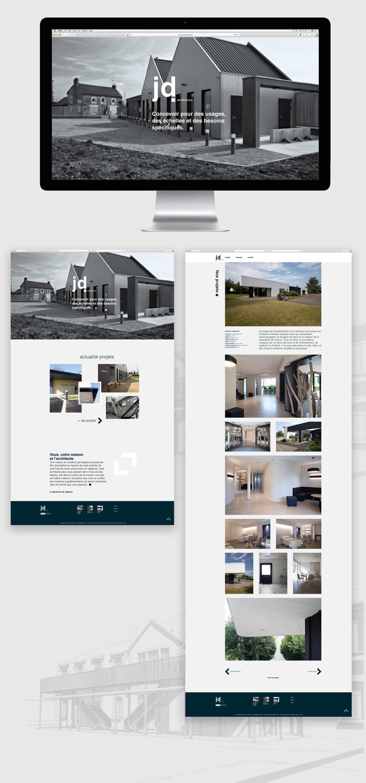 interface web JD architecture