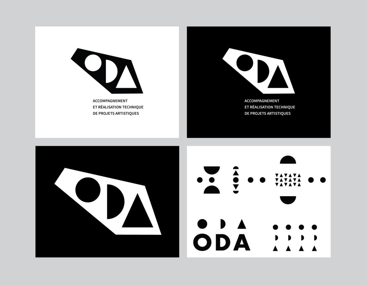 Planche logo ODA