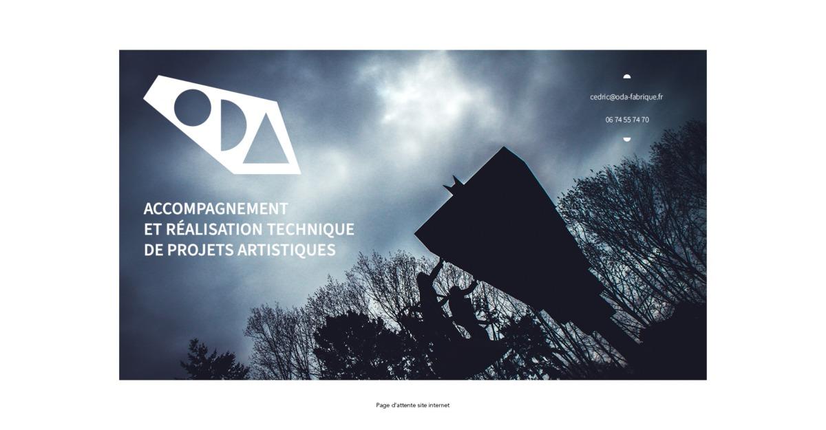 Page site internet ODA-telegraphie